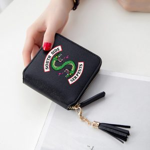 Mini Purse/Wallet – Black- mod1