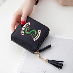 Mini Purse/Wallet – Black- mod1