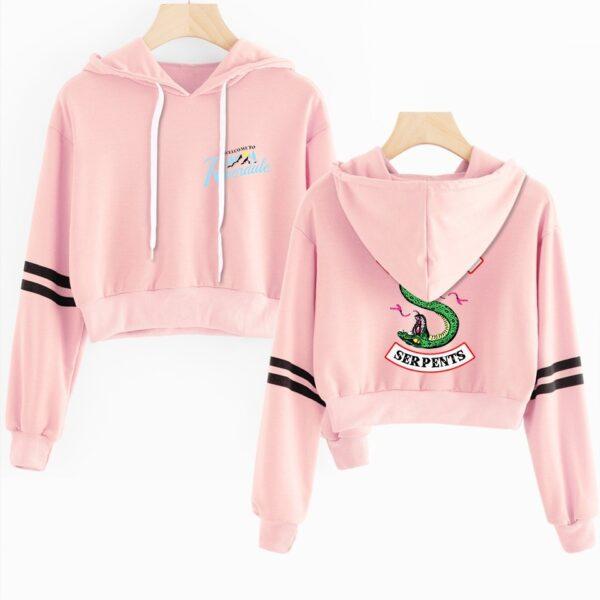 riverdale cropped hoodie