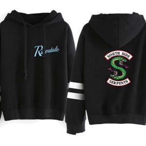 Riverdale Hoodie #2- Black